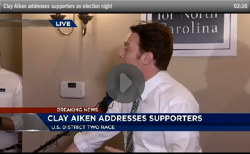 Clay Addresses Supporters on Election Night