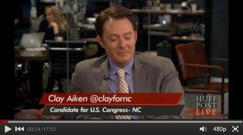 Clay Aiken LIVE interview
